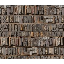 Motivkarton Buchstaben 49,5 x 68 cm