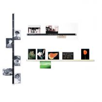 Clip Rail - Klemmleiste für Fotos, Karten... beschriftbar