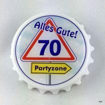 Kapselheber 70. Flaschenöffner mit Magnet Alles Gute 70
