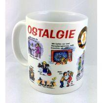 Tasse Ostalgietasse Kaffeetasse Kaffeebecher Porzellan Deko