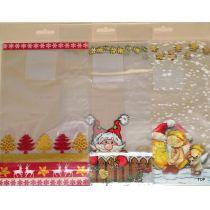 Beutel mit Boden 8er Pack Weihnachtsmotive 14,5x23,5 cm