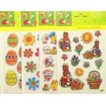 Deko Cristall Ostersticker Label Ostern Aufkleber Ei Sticker