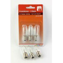 Ersatzbirnen für 7 flammigen Lichterbogen Typ E10,34V,3 W