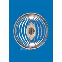 Spirale 12703 Edelstahl Kugel 12 cm Hochglanz poliert Windspiel
