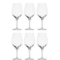 Rotweingläser Exquisit Bordeaux 6-er Set Weingläser Rotweinglas Bordeauxglas Rotwein Gläser