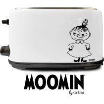 Moomin Toaster Edelstahl 900 Watt Doppelschlitz-Toaster by Adexi