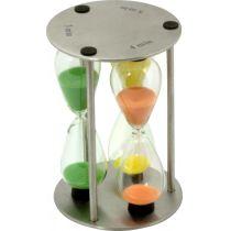 Sanduhr Zeitmesser messen Zeitmessgerät Sanduhren Uhren Uhr Minuten Zeit Sand Kurzzeitmesser