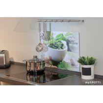 mySpotti Spritzschutz für die Küche verschiedene Motive Abdeckplatte Herd Küchen Küchenrückwand