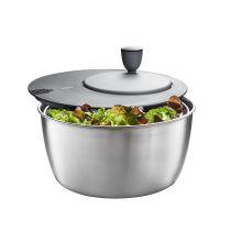 Gefu Salatschleuder Rotare Edelstahl Salat Schleuder Salattrockner Küchensieb