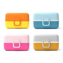 Monbento Bento Tresor Lunchbox Snackdose Kinder Lunch Box BPA-frei Brotzeitbox Brotbox Brotzeitdose