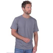 SNAP Workwear T-Shirt T2, Gr. S, Stahlgrau
