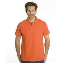 SNAP Polo Shirt Star - Gr.: S, Farbe: orange