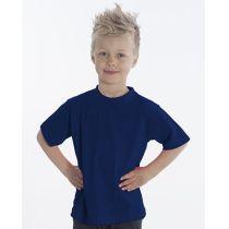 SNAP T-Shirt Basic-Line Kids, Gr. 128, Farbe navy