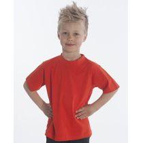SNAP T-Shirt Basic-Line Kids, Gr. 128, Farbe rot