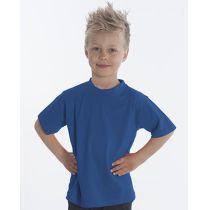 SNAP T-Shirt Basic-Line Kids, Gr. 128, Farbe royal