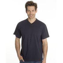 SNAP T-Shirt Flash Line V-Neck Unisex, schwarz, Gr. S
