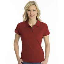 SNAP Polo Shirt Top-Line Women dunkelrot, Grösse M