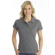 SNAP Polo Shirt Top-Line Women stahlgrau, Grösse M
