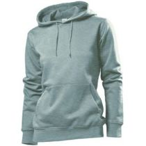 Stedman Hooded Sweatshirt Women, heidekraut grau, Grösse S