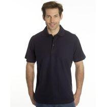 SNAP Polo Shirt Star - Gr.: 4XL, Farbe: schwarz