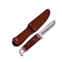 Schnitzmesser mit Lederscheide