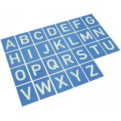 EDUPLAY Sandpapierbuchstaben A-Z
