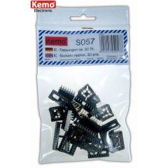 Kemo IC-Fassungen ca. 30 Stück