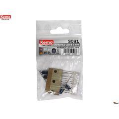Kemo Infrarot-LED Ø 5mm ca. 10 Stück