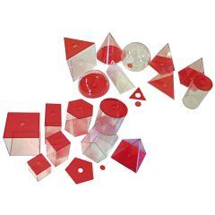 EDUPLAY Geometrische Elemente, groß, rot
