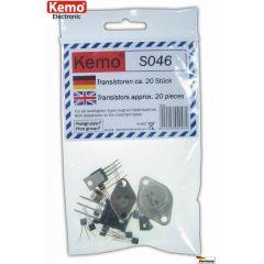 Kemo Transistoren TO3/ TO92 + Datenblatt