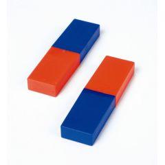 Rechteckmagnet (80 x 22 x 10 mm), 2 Stück