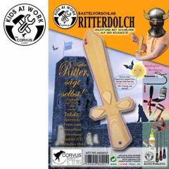 KIDS AT WORK Bastelvorschlag Ritterdolch (mit Sperrholzplatte)