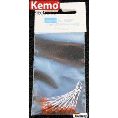 Kemo LED Ø 3mm orange ca. 10 Stück