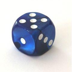 Würfel 15 mm (Augenwürfel) blau