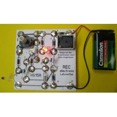 REC electronic Temperaturregler Schmitt-Trigger Bausatz mit LED