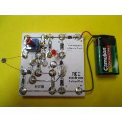 REC electronic Dämmerungsschalter Schmitt-Trigger Bausatz mit LED