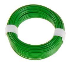 Litze 1-adrig, 18 x 0,1/ 10m , grün