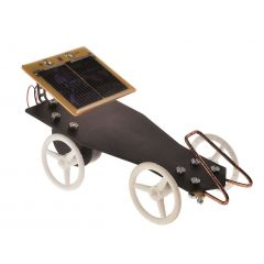 Solarfahrzeug mit Getriebemotor