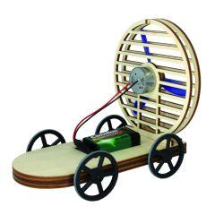 SOL-EXPERT Storm Car, Fahrzeug mit Luftantrieb (Bausatz)
