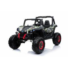 """Kinderfahrzeug - Elektro Auto """"Buggy 04"""" - 2x 12V7AH Akku,4 Motoren- 2,4Ghz, Allrad+MP3+Ledersitz+EV"""