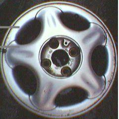 Felge Opel 5.5 x 14 / ET 49 Corsa B GM / Opel / Vauxhall / 4L - 9.xx - 8.xx - Original - Aluminium / Alufelge