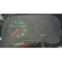Armaturen Einsatz Audi 50 / VW Polo / Derby * 86 Display grün 160 km/h / Tacho / Tank Anzeige / Temperatur WL
