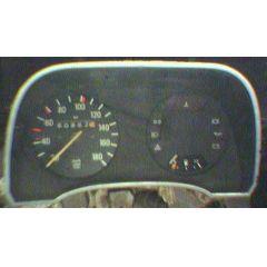 Armaturen Einsatz Audi 50 / VW Polo / Derby * 86 Display weiß 180 km/h / Tacho / Tank Anzeige / Temperatur WL