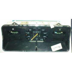 Armaturen Einsatz Opel Ascona C / Kadett E Display weiß 200 km/h / Tacho / Tank Anzeige / Temperatur Anzeige /