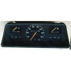 Armaturen Einsatz Opel Corsa A .1 Display weiß 200 km/h / Tacho / Tank Anzeige / Temperatur Anzeige / Choke WL