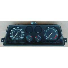 Armaturen Einsatz Opel Corsa A .2 GSI Display weiß 200 km/h / Tacho / Drehzahlmesser / Tank Anzeige / Temperat