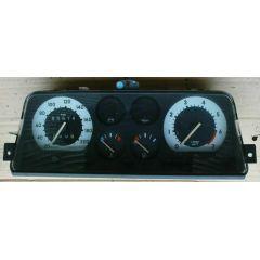Armaturen Einsatz Opel Corsa A .2 Display weiß 200 km/h / Tacho / Tank Anzeige / Temperatur Anzeige / Tageszäh