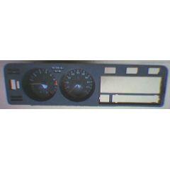 Armaturen Einsatz VW Golf 1 - Classik / GTi Display weiß 220 km/h / Tacho / Tank Anzeige / Temperatur Anzeige