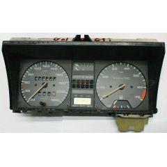 Armaturen Einsatz VW Golf 2 / Jetta 2 Display weiß 220 km/h / Tacho / Tank Anzeige / Temperatur Anzeige + WL /