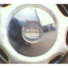 Radkappe 13 Chrom Original Audi 80 / 90 / Coupe 81 / 85 - 9.78 - 8.88 - Radnabenabdeckung - gebraucht